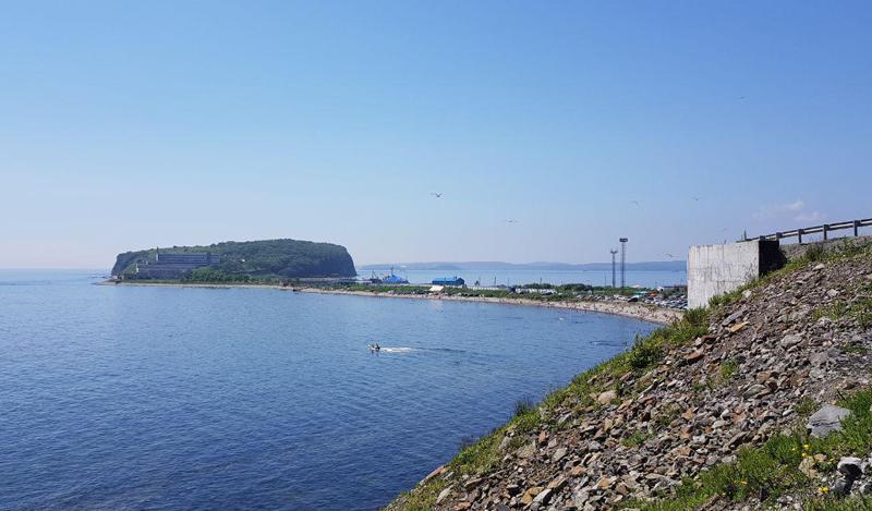 Бухта Соболь и полуостров Басаргина, Владивосток